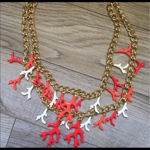Lilly Pulitzer Good Reef Coral Necklace